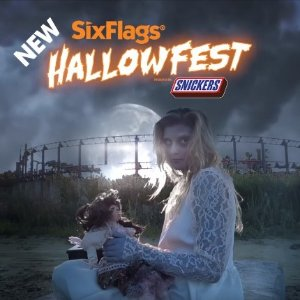 Reservation opens 9/3HALLOWFEST Presented by SNICKERS