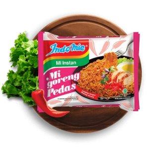 $13.9 一包$0.46Indomie Mi Goreng 辣味速食炒面30袋