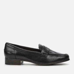 Clarks黑色乐福鞋