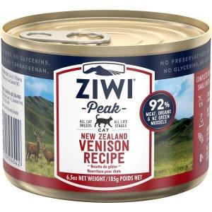 ZiwiPeak鹿肉味猫罐头 6.5oz 12罐