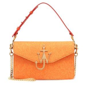 4cea8dd74 Mytheresa offers up to 60% off Handbags Sale. Free shipping. JW  AndersonLogo felt shoulder bag