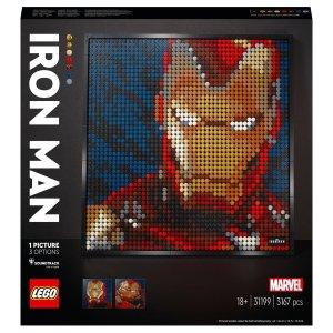 Legoart 系列钢铁侠 (31199)