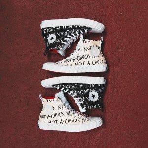 """""""弹幕""""鞋即将发售新品预告:Converse X UNT1TL3D 把吐槽踩在脚下"""
