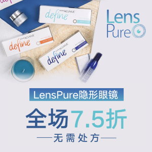 25% offContact Lens Sitewide @ LensPure