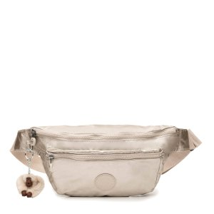 KiplingExtra Large Metallic Fanny Pack