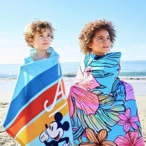 $10 原价$16迪士尼官网 各种沙滩毯特惠