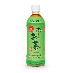 $13.57 一瓶$1.1Ito En 伊藤园无糖原味绿茶 16.9 Fl Oz. 12瓶装