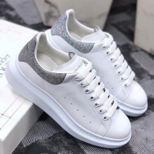 满额享9折 收新款小白鞋Alexander Mcqueen 全场折扣热卖 经典款新款小白鞋都参加
