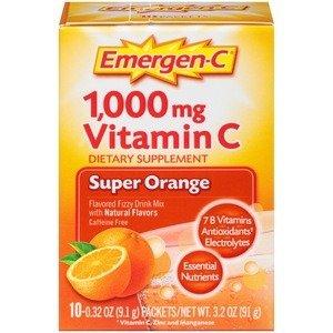 Emergen-C Vitamin C, 10CT