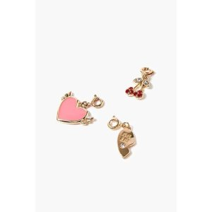 Forever21Buy 2 Get 1 FreeHeart Charm Set