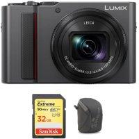 Panasonic Lumix DC-ZS200 + 32GB SD + 包