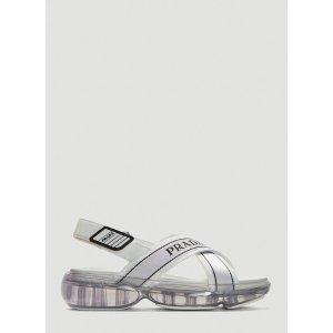 PradaClousbust Sandals in White