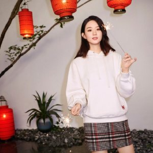 H&M赵丽颖同款卫衣