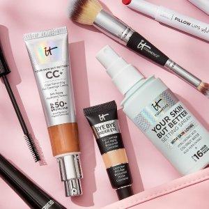 送4件套 + 退税17%IT Cosmetics 北美网红彩妆 入高分眼下遮瑕、CC霜