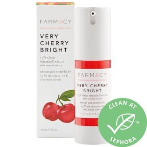 Very Cherry Bright 15% Clean Vitamin C Serum with Acerola Cherry - Farmacy | Sephora