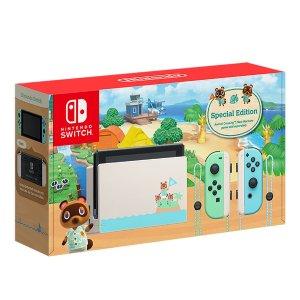 售价$469 10月9日发货预购:Nintendo Switch 动森限定版主机