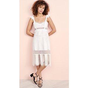 For Love & LemonsGabrielle Midi Dress