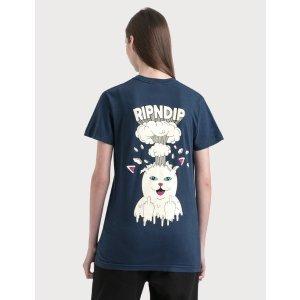 Ripndip头脑爆炸猫T恤