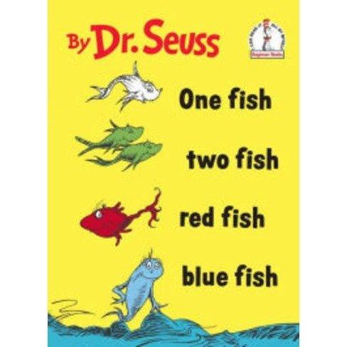 一条鱼,两条鱼,红色的鱼,蓝色的鱼