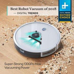 $199.99(原价$310)限今天:Eufy RoboVac 11S超薄扫地机器人 比上一代的集尘容量提升30%