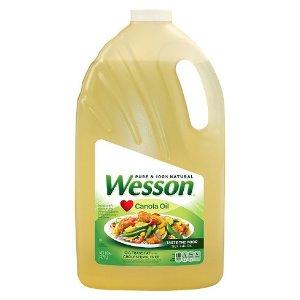 Wesson® Canola Oil - 128oz : Target