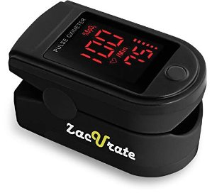 $14.95Zacurate Pro Series 500DL Fingertip Pulse Oximeter Blood Oxygen Saturation Monitor