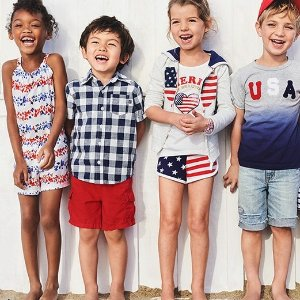 Today Only: 40% Off + Extra 20% Off $40 + Use FUN CASHAll-American Styles Sale @ OshKosh B'gosh