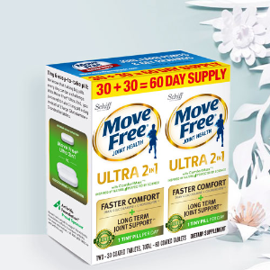 Singles Day Exclusive! $4 Off + Extra $2 Off Move Free, MegaRed,  Digestive Advantage Products @AMAZON