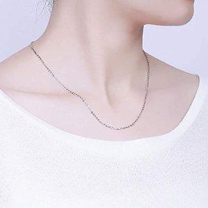 $6(原价$10.98)极简项链 挂坠必入款 极细设计超显脖颈 重量轻 多长度可选