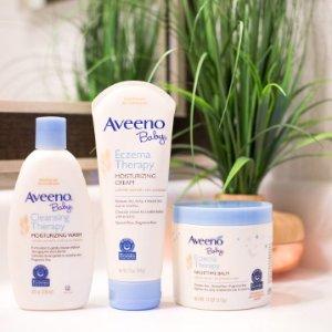 低至$6.62Aveeno Baby 婴儿洗护产品特卖