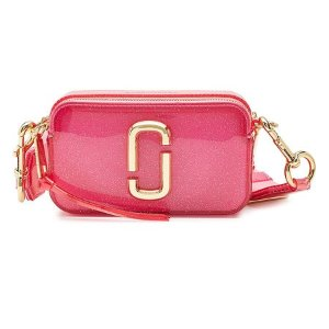 Marc Jacobs- The Jelly Glitter Snapshot Shoulder Bag