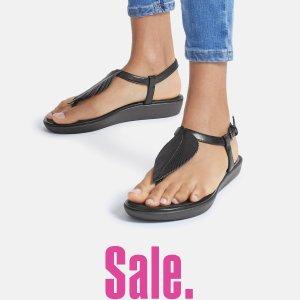 3.2折起+免邮 £36就收芭蕾鞋Fitflop官网 夏季大促升级 超舒服居家、出街、健身都不误