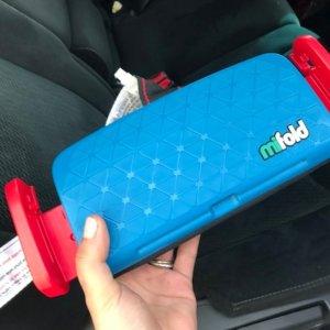 低至$34.98 打车租车必备mifold 超便携儿童安全座椅,6色可选