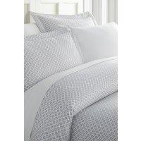 IENJOY HOME Enhance And Improve Your Bedroom 3-Piece Duvet Cover Set - Gray - Queen
