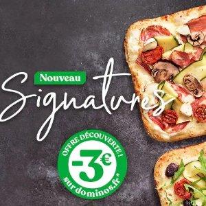 立减€3  9月30日截止Domino's Pizza 推出4款新口味披萨 优惠尝鲜价 值得一试