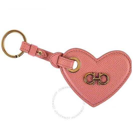 爱心钥匙坠