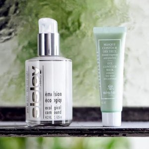 无门槛8折 €60收角质调理霜Sisley 法国高端护肤 收全能乳液、植物眼唇霜 修护平衡肌肤好物