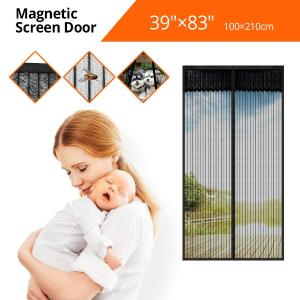 $12.99(原价$21.99)Tker 磁力自动开合防虫纱门