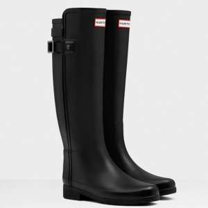 $130Hunter Women's Original Refined Back Strap Rain Boots