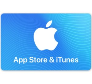 $85App Store & iTunes Gift Cards $100