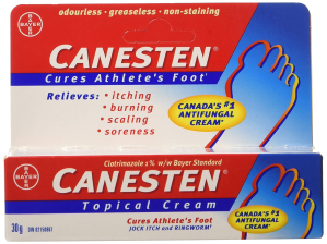 $11.37(原价$12.99)  加拿大第一CANESTEN 德国拜耳脚气膏 脚气灰指甲抗真菌软膏 30g