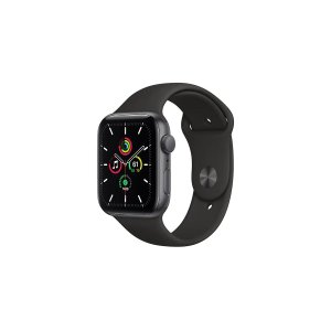AppleWatch SE (Space Grey Aluminium, 44mm, Black Sport Band, GPS Only) | Smart Watches |
