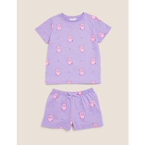 Percy Pig 香芋紫睡衣(3-16 Yrs)