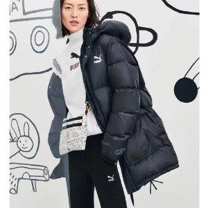 5折起Puma 冬季专场 宣美同款羽绒服、韩式长款羽绒服促销