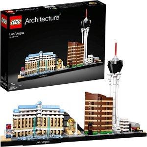 现价€25.99(原价€39.99)LEGO Architecture 21047 拉斯维加斯 特价