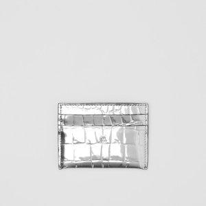 Burberry金属压纹卡包
