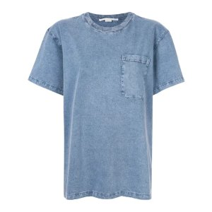 Stella McCartneycasual pocket T-shirt BLUE