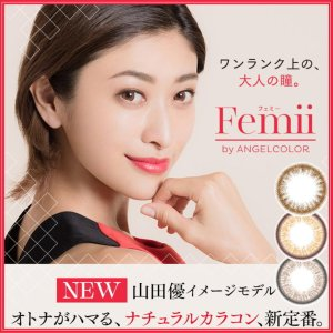 $13.13Femii 1Day Disposable Colored Contact Lens 10pcs @LOOOK