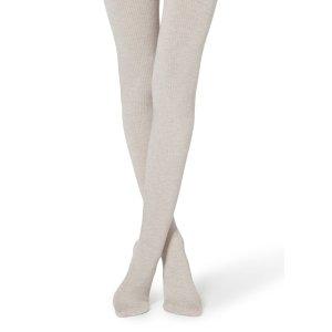 CalzedoniaGerippte 羊绒裤袜