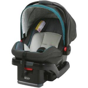 $99Graco SnugRide SnugLock 35 婴儿提篮式汽车座椅 Tenley色